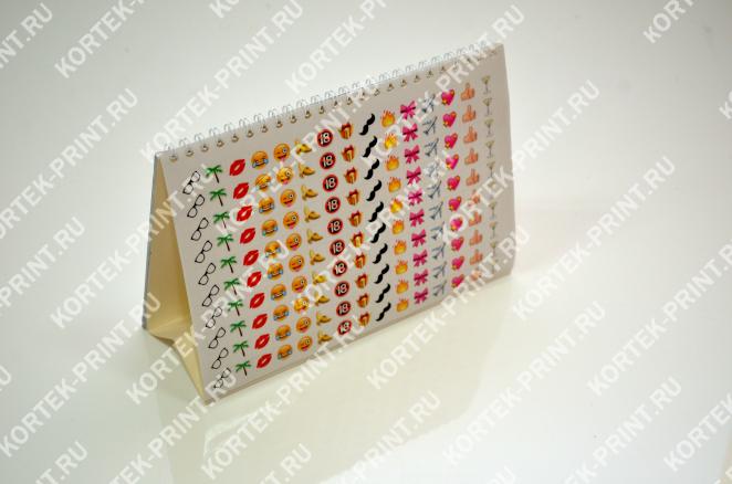 Дополнительный лист с отрывными стикерами для календаря домика А5